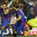 El Levante gana el derbi ante el Valencia