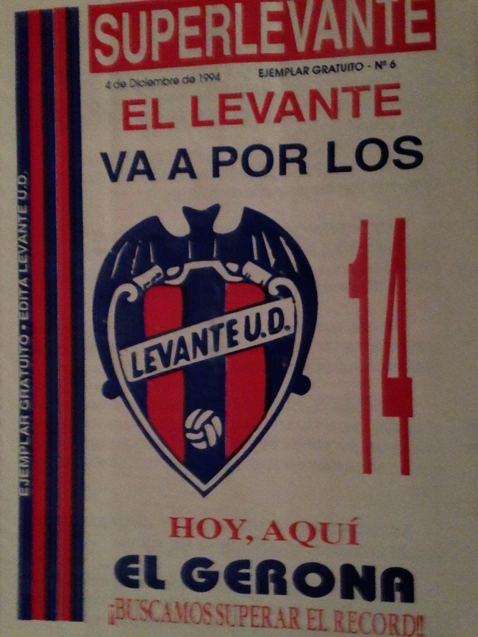 Libro Levante-Gerona 1994