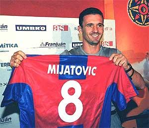 El fichaje de Mijatovic por el Levante