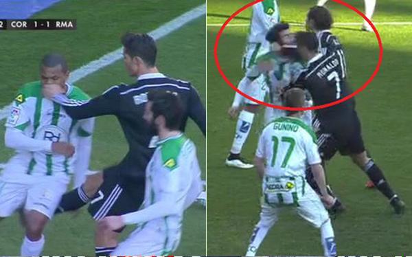 Esta acción de Ronaldo más una provocación y un desprecio a una afición: 2 partidos.