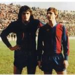 Barcelona y Levante, los dos clubes españoles donde jugó Johan Cruyff