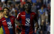 Boateng uno de los tres jugadores que han conseguido un hattrick en Primera División con la camiseta del Levante