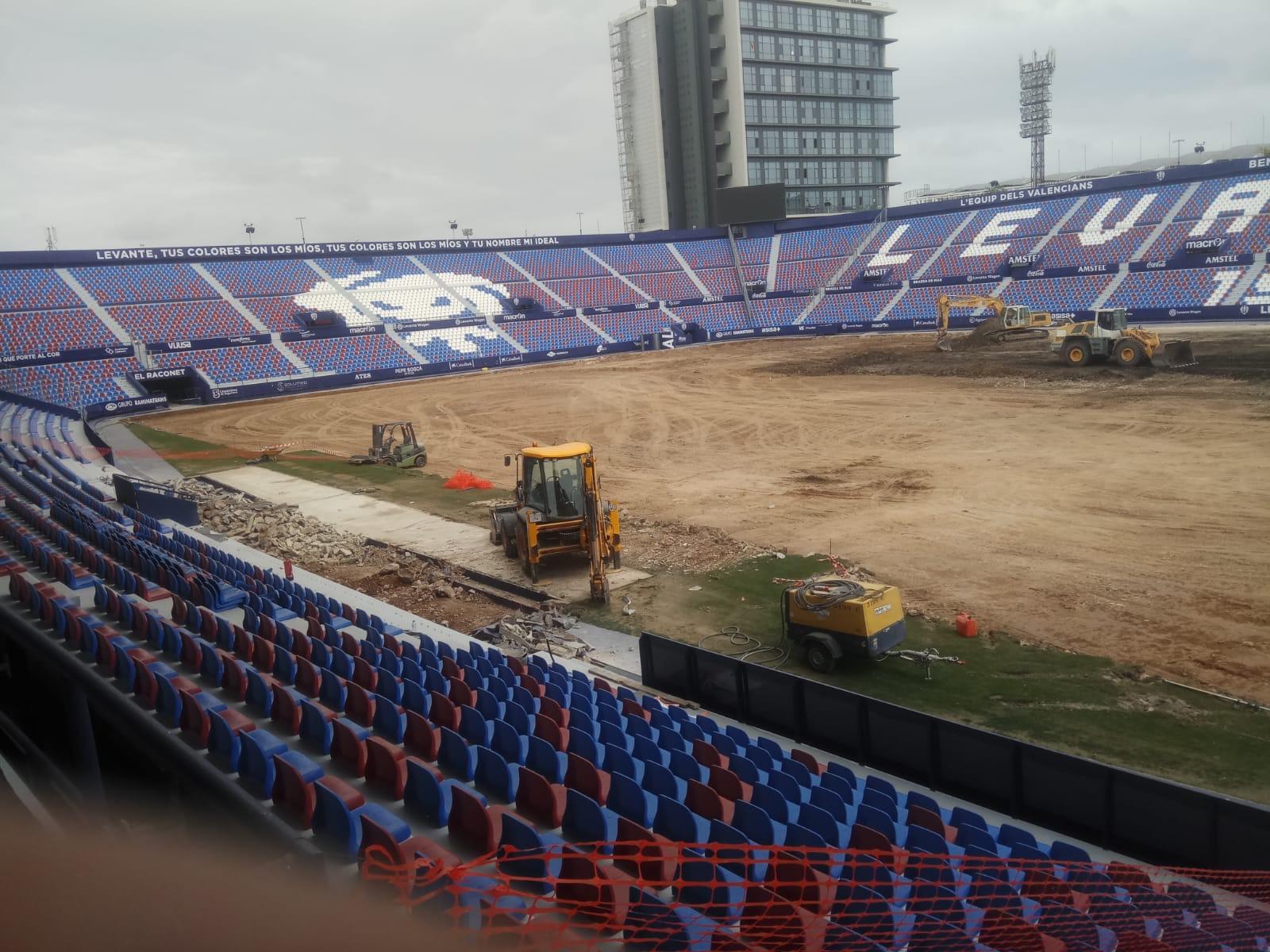 El Ciutat de València pasará a estar cubierto por completo