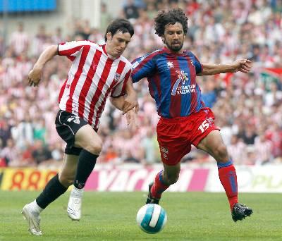Tommasi en aquel partido frente al Athletic de Bilbao.
