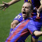 Juanlu, el hombre de los goles históricos del Levante UD