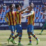 El Levante UD celebra el 9 de octubre siendo el mejor de la Comunitat Valenciana