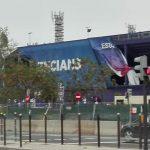 La lluvia y el viento causan daños en el Ciutat de València