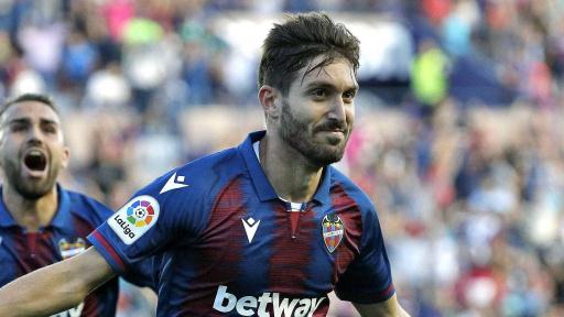 jugadores del Levante con más partidos en primera